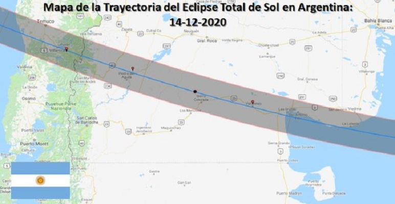 Expectación por el clima a un día del eclipse total de sol en el sur de Chile