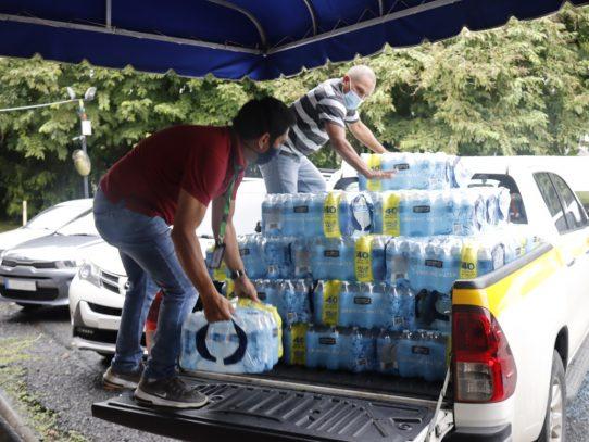 Movimiento cooperativo contribuye con donaciones a afectados por inundaciones