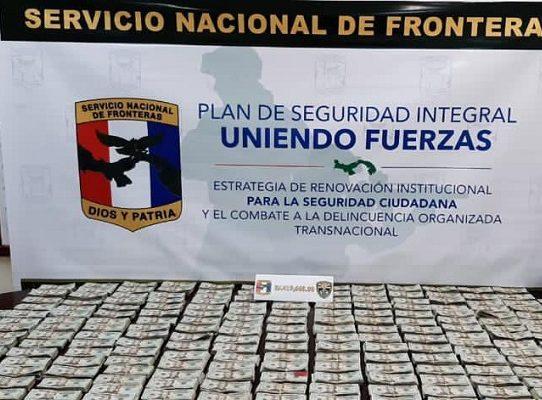 Encuentran B/.419,660.00 ocultos en un auto en Chiriquí