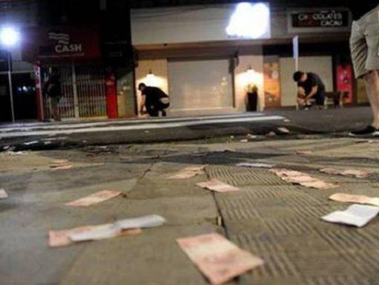 Nuevo mega asalto a banco deja un muerto en el interior de Brasil