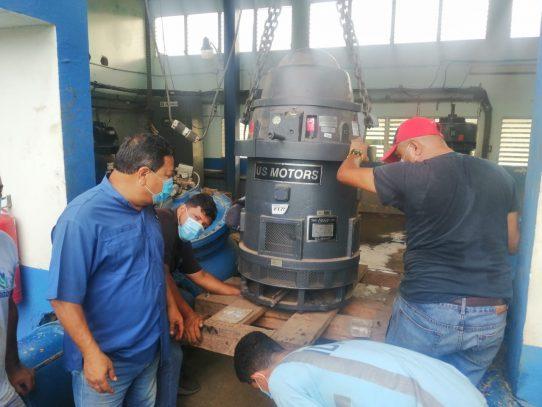 Potabilizadora de Chitré opera al 50% por trabajos en toma de agua cruda