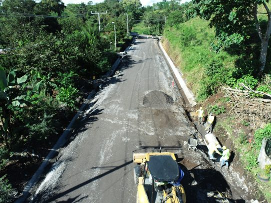 MOP reactiva obras viales en la provincia de Chiriquí