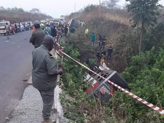 Al menos 37 muertos en un accidente de autobús en Camerún