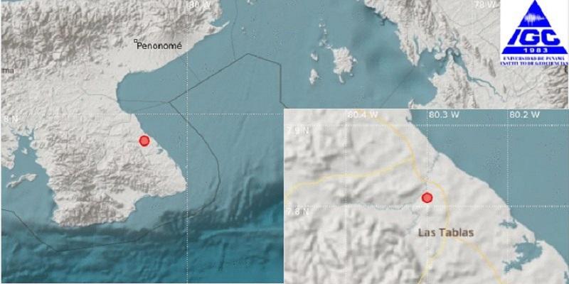 Sismo con magnitud de 3.9 sacudió Los Santos