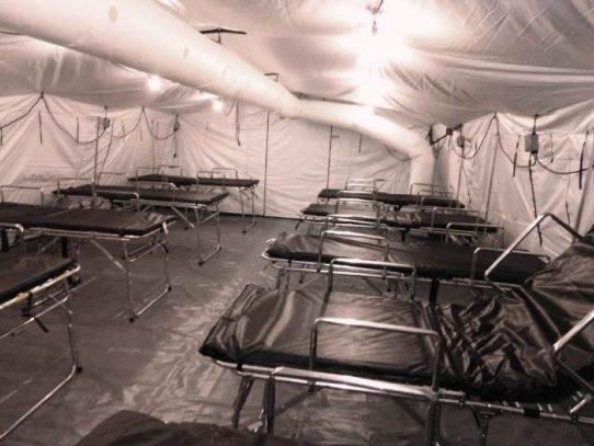 Ultiman detalles para poner en funcionamiento hospital campaña en La Chorrera