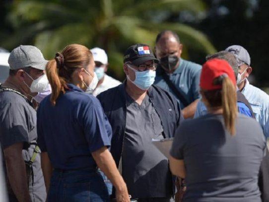 Director de la CSS inspeccional el hospital campaña de Panamá Oeste