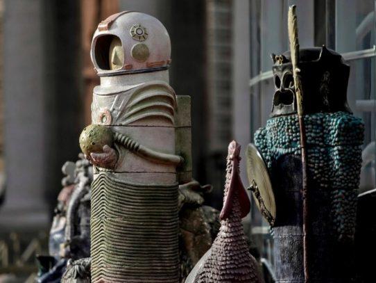 Un controversial pesebre en el Vaticano se convierte en un símbolo de 2020