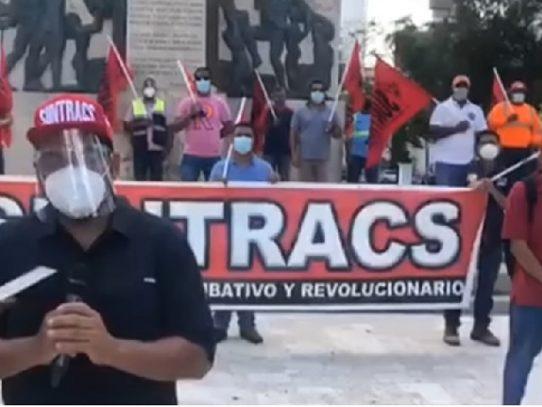 """El Suntracs rechaza  nueva cuarentena """"sin salarios"""""""