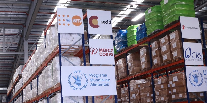 Panamá despacha cientos de toneladas de ayuda humanitaria a otros países