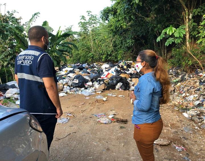 Defensoría del Pueblo realiza gira de trabajo en Costa Arriba de Colón