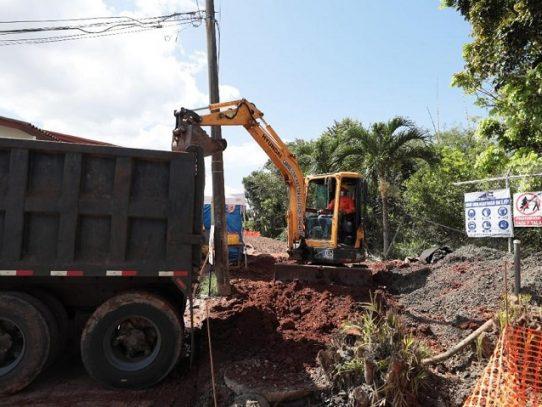 Saneamiento de Panamá culmina reparaciones en línea sanitaria de Brisas del Golf