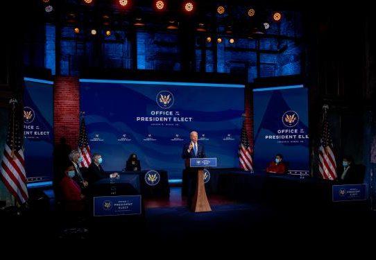 Biden vuelve a sus raíces para elegir a su gabinete