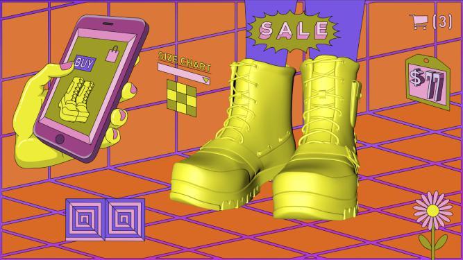 ¿Te quedan esos zapatos? Pruébatelos con realidad aumentada