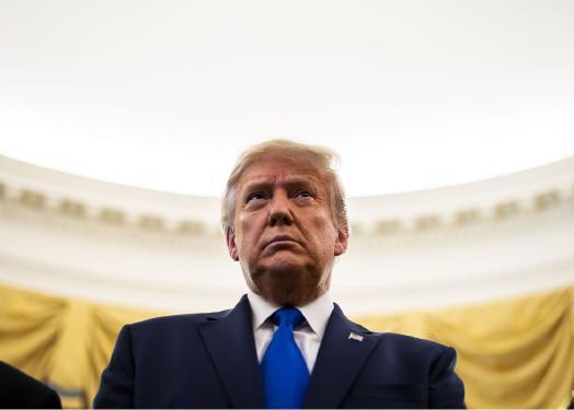 Un presidente desdichado, desenfrenado e impredecible