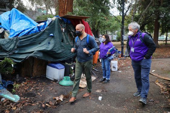 El aislamiento ayuda a la población sin hogar a escapar de la peor parte del virus