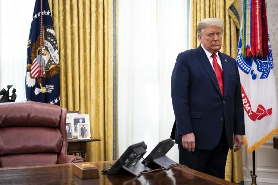 Los últimos días de furia y negación de Trump