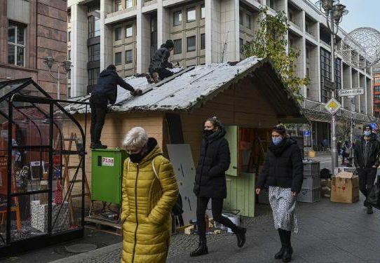 En la pandemia, los tradicionales mercados de Navidad cesan actividades