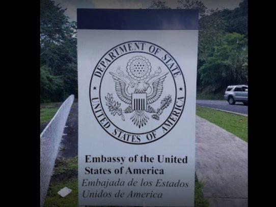 Embajada de EE.UU. anuncia el cierre de la sección consular del 21 de diciembre al 4 de enero