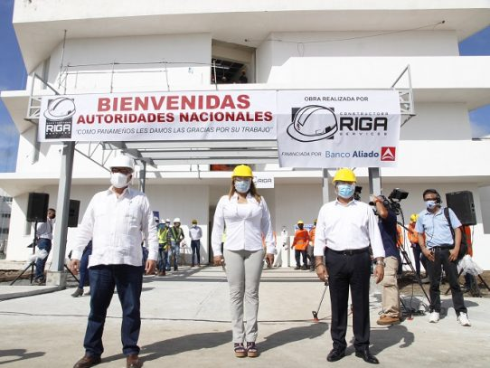 Autoridades inspeccionaron la Ciudad de la Salud