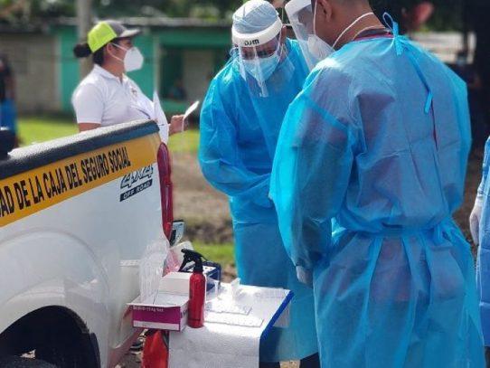 Veraguas: Realizan hisopados en comunidades de Soná