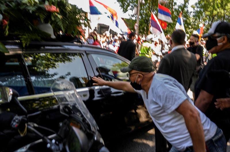 Multitudinario cortejo fúnebre despide al expresidente uruguayo Tabaré Vázquez
