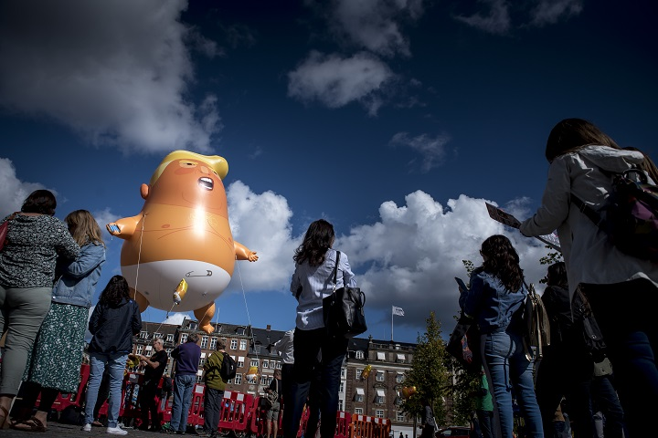 """Enorme globo de """"bebé Trump"""" será expuesto en Museo de Londres"""