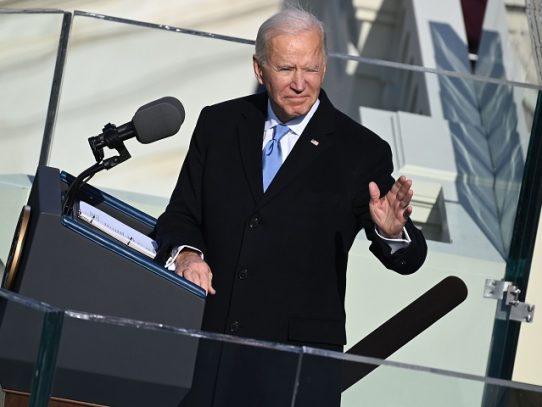 Joe Biden jura como el 46º presidente de EE.UU.