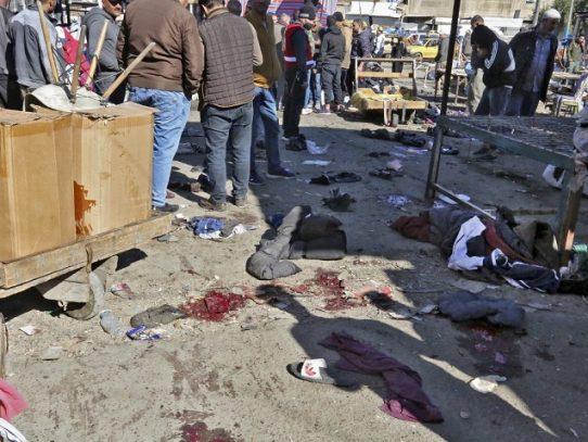 Unos 32 muertos en doble atentado suicida en el centro de Bagdad