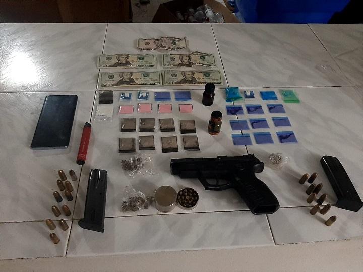 Incautan drogas y armas en una fiesta clandestina el distrito de Arraiján