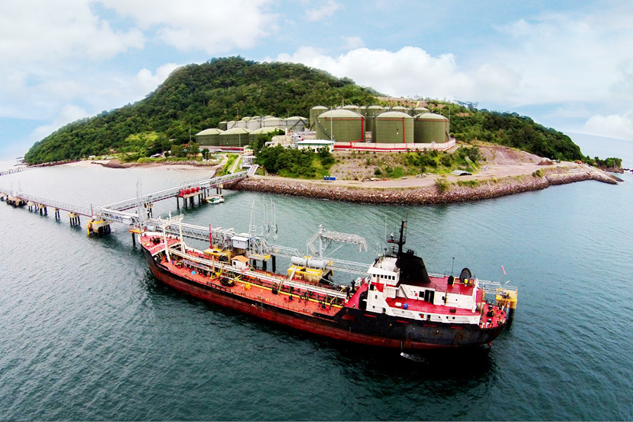 Panamá: Venta de búnker cayó 10.47% al cierre del 2020