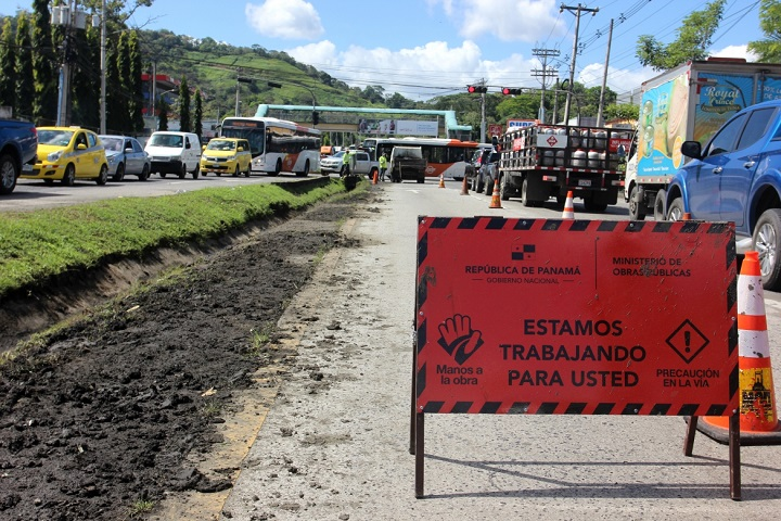 MOP pide a los conductores respetar las señalizaciones colocadas por la institución