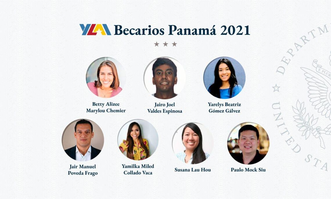 Panameños emprendedores becados por la embajada de Estados Unidos para capacitación