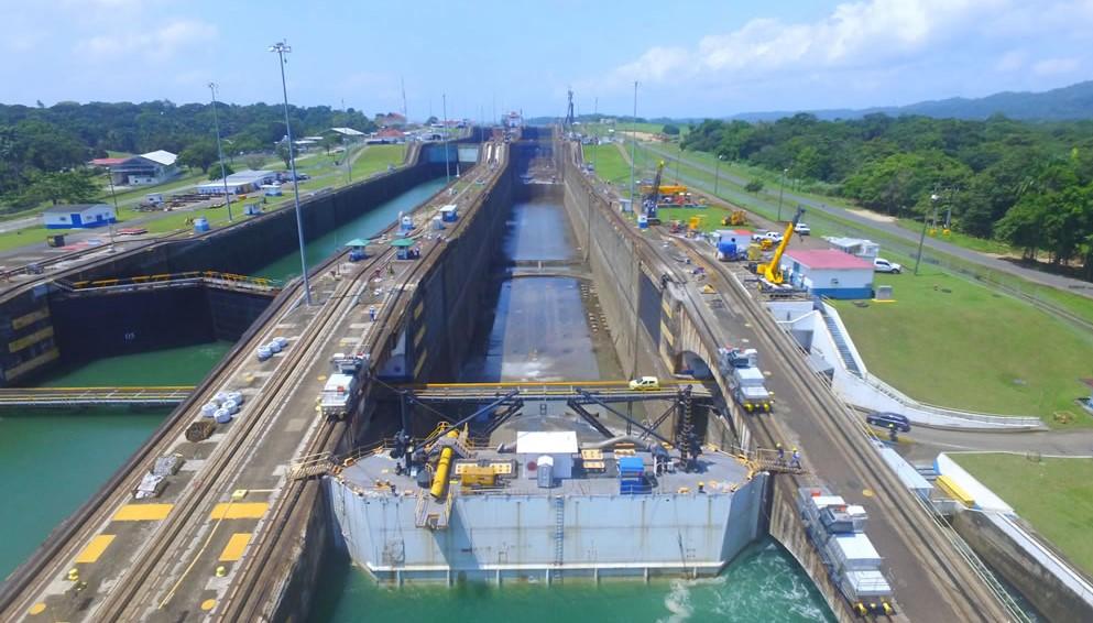 ACP atiende incidencia en infraestructura de las esclusas de Gatún