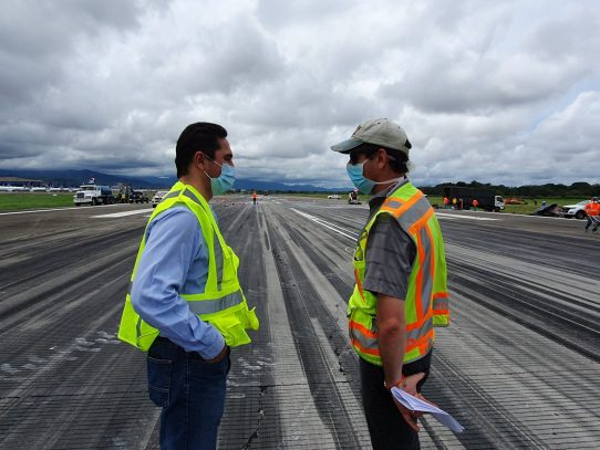 Tocumen S.A. rehabilitó pista de aterrizaje durante el cierre de la terminal