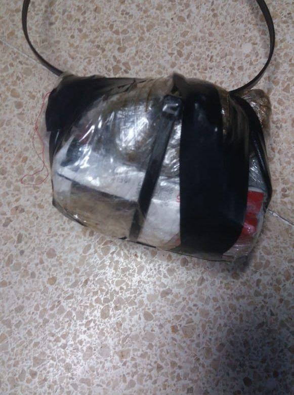Decomisan sustancias ilícitas lanzadas por drones y presunta droga en zanahorias
