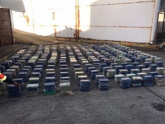Decomisan 1,499 paquetes con droga en el Atlántico