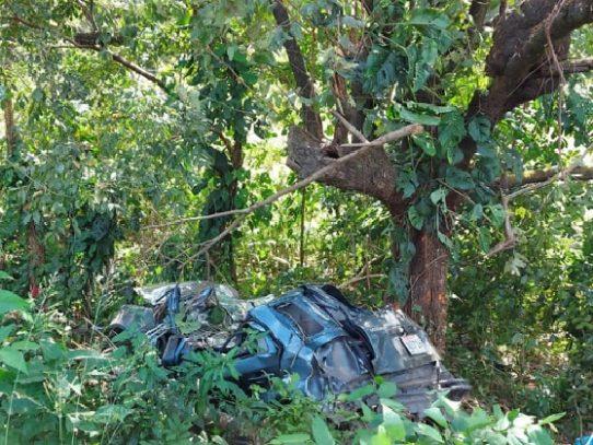 Padre e hijo mueren en un accidente en Chepo