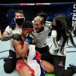 La panameña Joselyne Edwards triunfa en su debut en la UFC