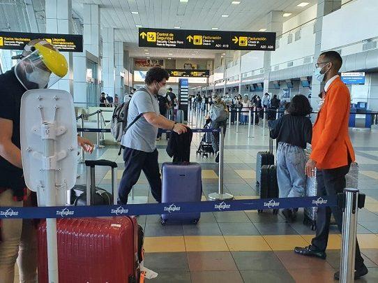 Se detectaron 12 pasajeros con Covid-19 en el aeropuerto de Tocumen
