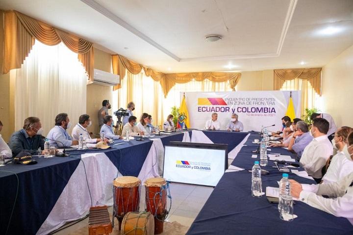 Nuevo eje vial colombo-ecuatoriano se entregará en junio de 2021