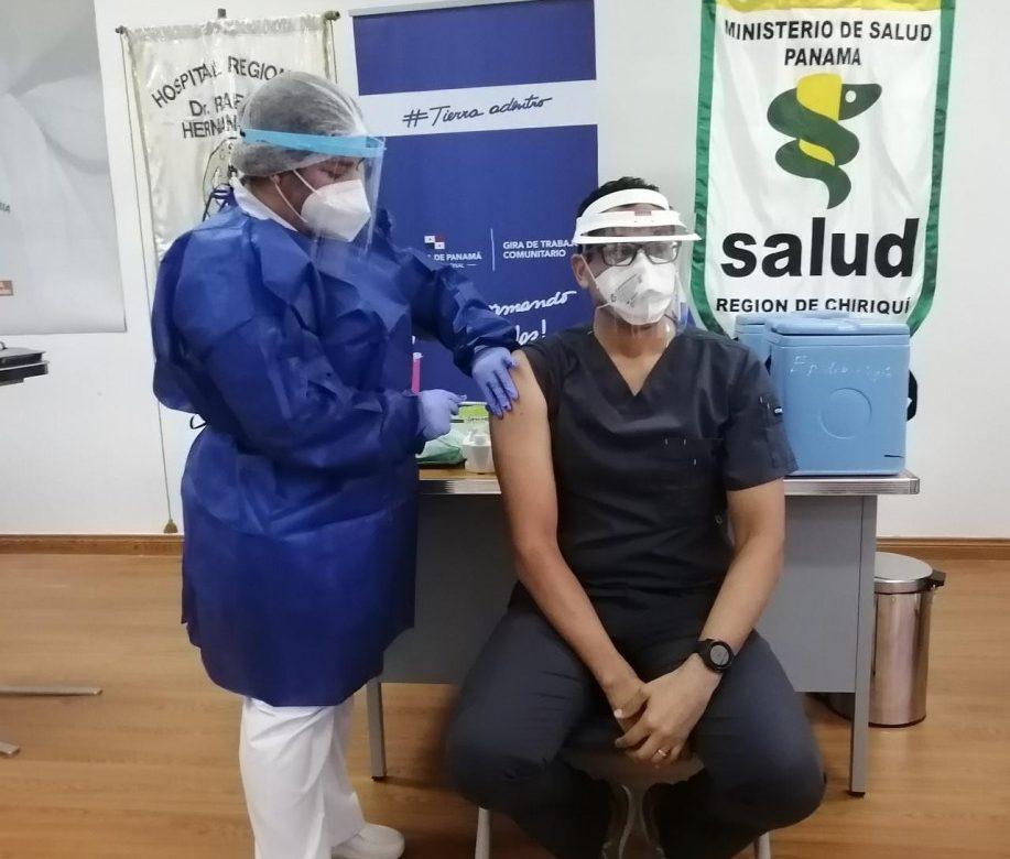 Chiriquí recibió sus primeras dosis de la vacuna Pfizer contra el Covid-19