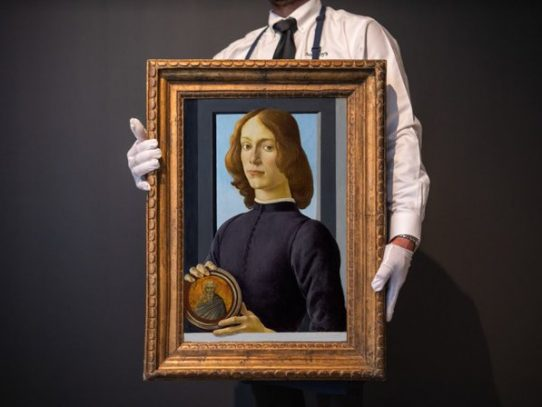 Récord en subasta para un Botticelli en Nueva York: USD 92,2 millones