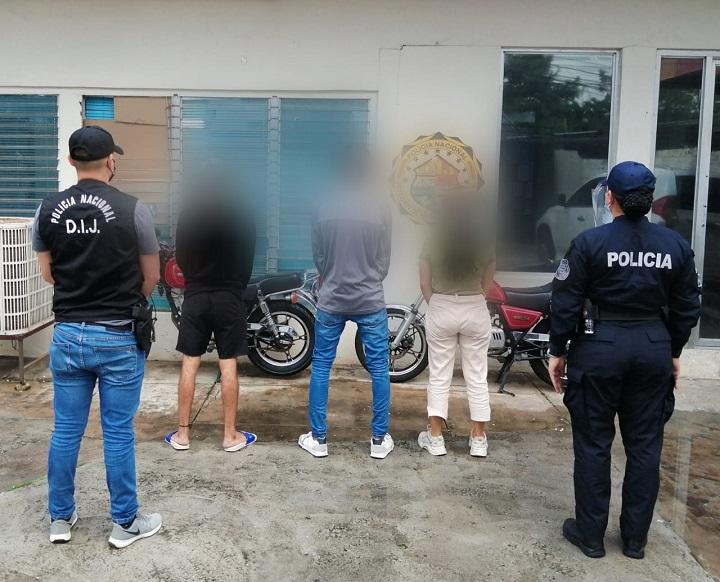 Tres aprehendidos por presunta privación de libertad de una menor de edad
