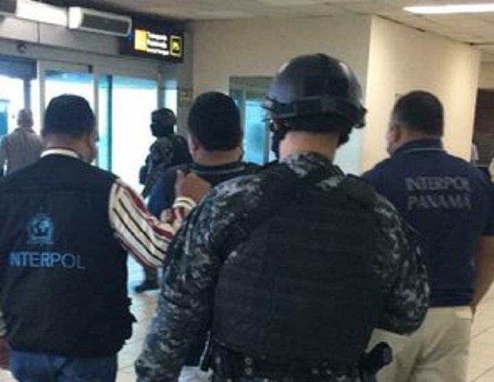 Interpol Panamá captura a un guatemalteco requerido por EE.UU.