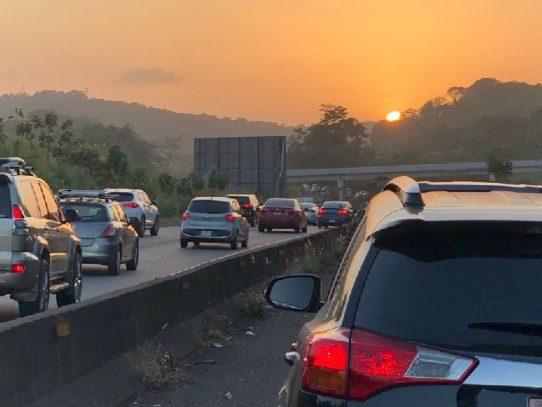 Cierre total de la vía Panamericana en Arraiján del viernes 29 de enero al lunes 1 de febrero