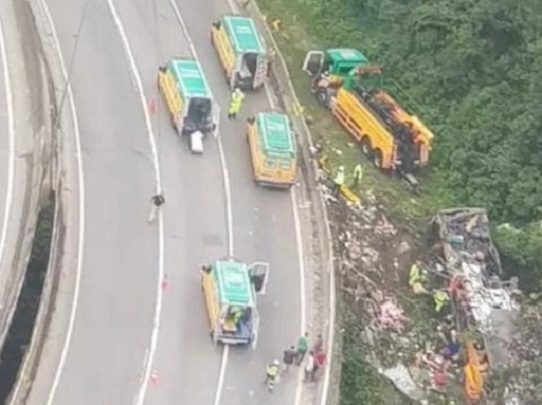 Al menos 19 muertos en accidente de autobús en el sur de Brasil