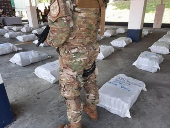 Decomisan 1,344 paquetes con droga en Isla Casayeta