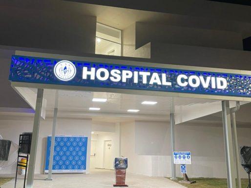 Entregan área para atender a pacientes con covid-19 en Ciudad de la Salud