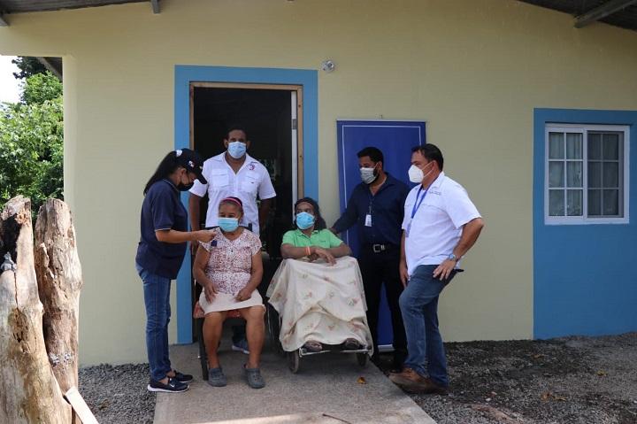 Tres familias con miembros con discapacidad en Capira reciben Año Nuevo en viviendas nuevas
