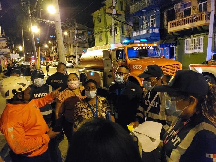 Miviot atiende a 12 familias afectadas por incendio en Casco Antiguo de Colón